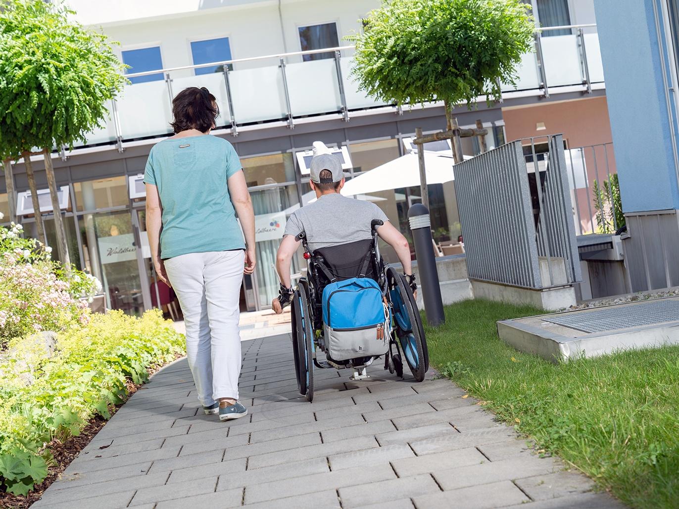 Körperbehinderte Allgäu mit Ihrem ehrenamtlichen Engagement unterstützen