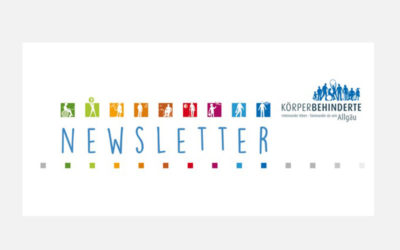 Newsletter der Körperbehinderten Allgäu