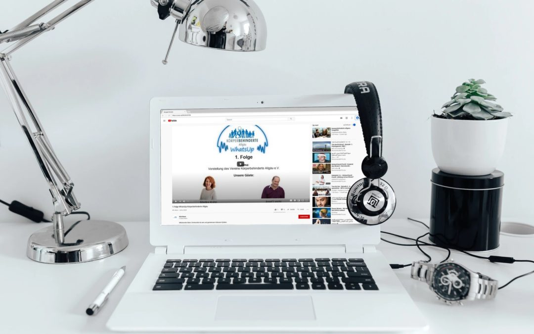 Hey – WhatsUp? Der Verein für Körperbehinderte Allgäu e.V. im Podcast
