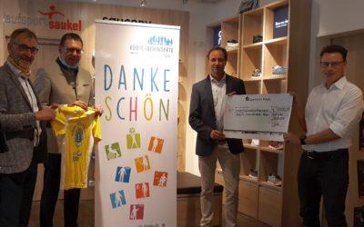 Seitz Laufsportwochen: 7.500 Euro für Menschen mit Behinderung im Allgäu erlaufen