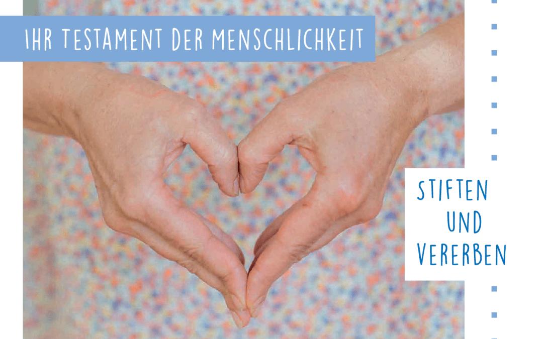 """Seminarverschiebung """"Testament und Behindertentestament"""""""