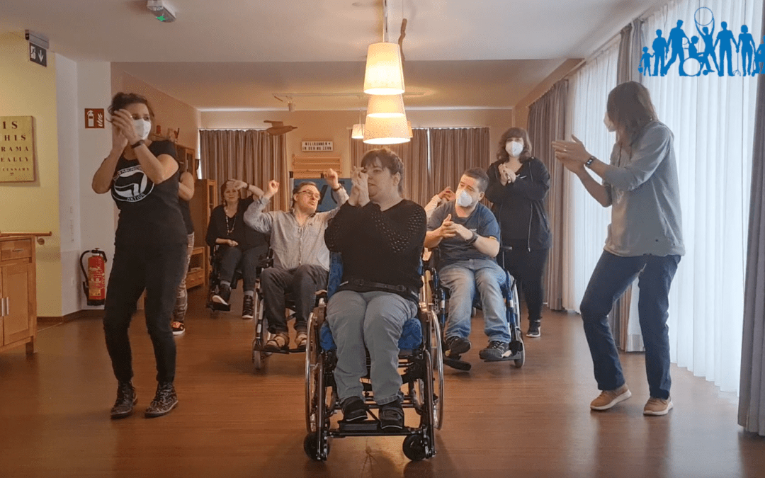 Video: Körperbehinderte Allgäu tanzt zu #Jerusalema