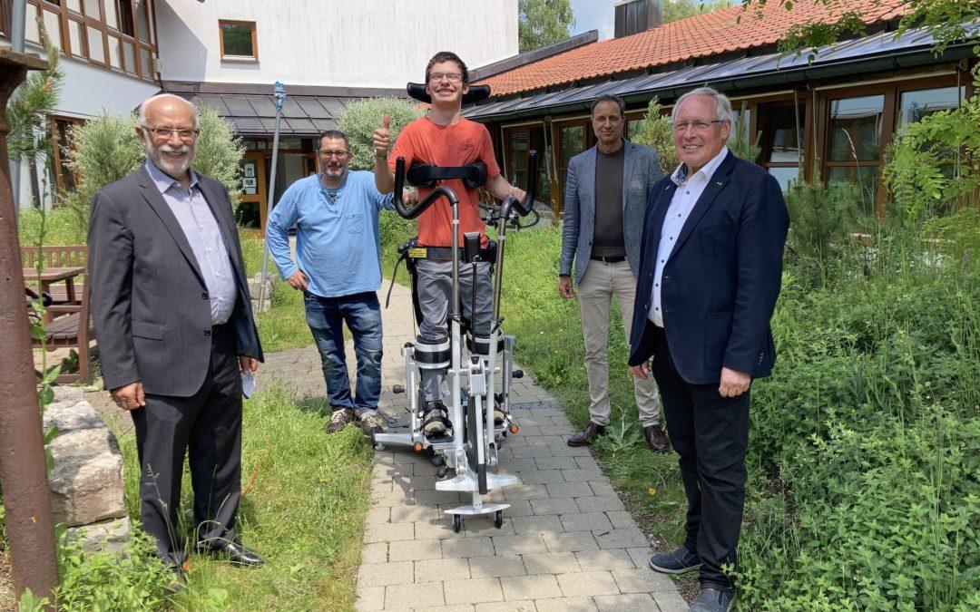 Familie Rauch-Stiftung unterstützt Körperbehinderte Allgäu mit 35.000 Euro